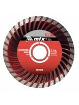 MTX Germany - Диамантен диск Turbo PREMIUM за сухо рязане - 200 х 22,2 mm.