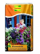 Stender - Висококачествен  Торфен субстрат Blumenerde - Цъфтящи растения - 15 литра