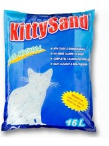 Valenger Kitty Sand Natural - силиконова котешка тоалетна / натурална / - 16 литра