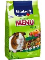 Vitakraft Premium Menu Vital - премиум храна за морски свинчета и други гризачи с плодове, витамини и протеини - 1 кг.
